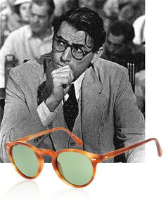 Oliver Peoples rend hommage à Harper Lee www.vogue.fr/mode/news-mode/articles/oliver-peoples-rend-hommage-a-harper-lee/15583
