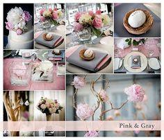pink and grey wedding theme | BAJU PENGANTIN BERTEMAKAN PINK (MERAH JAMBU) DAN SILVER (PERAK) .