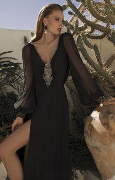 galia lahav, evening dresses, black fashion, berta bridal, haut coutur, haute couture