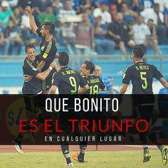 Que bonito es ver a @miseleccionmx ganar sea donde sea #yoquiero.  #mexico #Honduras #Soccer #fifa  #fútbol #tri #match #players