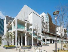 Minato Park Shibaura (みなとパーク芝浦) / Architect : NTT Facilities (設計:NTTファシリティーズ).