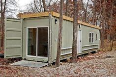 Μικρό σπίτι δοχείων: 320 τ.μ. Ft. με το Rooftop Deck