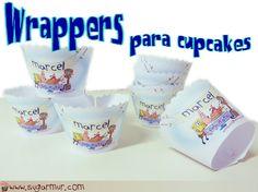 Sugar Mur: Wrappers para cupcakes