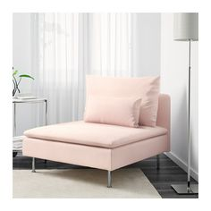 SÖDERHAMN One-seat section - Samsta light pink - IKEA