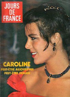 jours de france n°1391 caroline monaco   1981