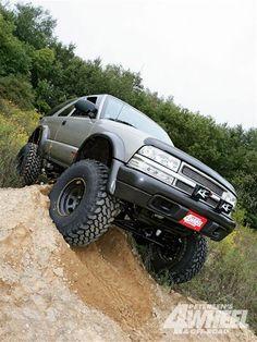 chevy s10 blazer lift kit