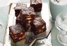 Over-the-top chocolate and macadamia brownies