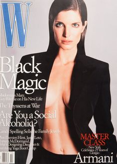 The 25 Best W Magazine Supermodel Covers Stephanie Seymour on the cover of W Magazine October 2000 Stephanie Seymour, Fashion Magazine Cover, Fashion Cover, Magazine Covers, Women's Fashion, Fashion Models, 90s Models, Fasion, Helena Christensen