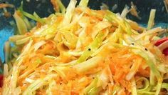 Coleslaw á la Kari Aihinen - Reseptit - MTVuutiset. Vegetarian Recipes, Cooking Recipes, Healthy Recipes, Good Food, Yummy Food, No Salt Recipes, Coleslaw, Soup And Salad, Salad Recipes