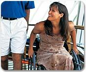 Royal Caribbean is very helpful and provides many options for accessible cruises!