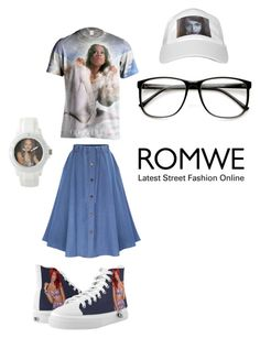 """""""Skirt"""" by djlbg ❤ liked on Polyvore featuring Zipz and ZeroUV"""