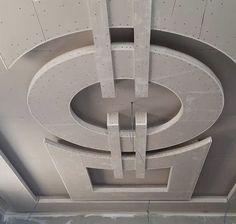 Plaster Ceiling Design, Gypsum Ceiling Design, House Ceiling Design, Ceiling Design Living Room, Bedroom False Ceiling Design, Tv Wall Decor, Ceiling Decor, Plafond Staff, False Ceiling For Hall