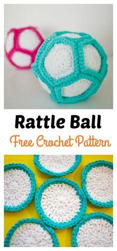 Rattle Ball Free Crochet Pattern