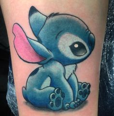 The Best Tattoo Studio in Las Vegas! — Another cute Stitch tattoo by Das Frank at Studio...