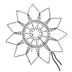 Crochet Snowflake Pattern, Crochet Motif Patterns, Crochet Snowflakes, Christmas Snowflakes, Crochet Squares, Christmas Gift Decorations, Sampler Quilts, Thread Crochet, Bookmarks
