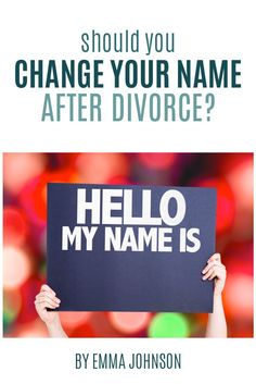 Not sure anymore dating after divorce