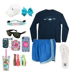 A fashion look from July 2013 featuring nike activewear, tory burch sandals and givenchy earrings. Browse and shop related looks. Fall College Outfits, Lazy Day Outfits, Preppy Outfits, Spring Outfits, Cute Outfits, Preppy Wardrobe, Preppy Fashion, School Outfits, Women's Fashion