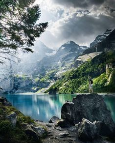 Looking for summer hiking goals? Oeschinensee needs a good hike but the views should be worth it al