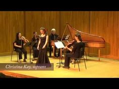 """Christina Kay, soprano, won Second Prize in the 2016 Handel Aria Competition. Here she sings """"As cheers the sun"""" from Joshua."""