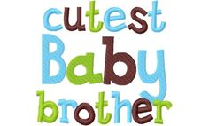 Siblings - Cindy's Adorable Appliques Siblings, Appliques, Brother, Logos, Cute, Riveting, Logo, Kawaii, Sconces