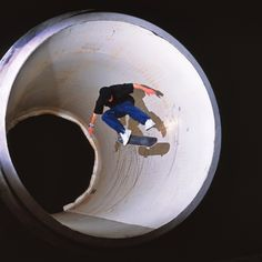 Tom Penny | Skateboard | Full Pipe Kickflip Canvas Print