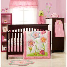 Graco Sweet Ladybug 3-Piece Crib Bedding Set (WM)