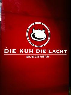 Die Kuh die lacht. Burgerbar in Frankfurt