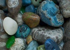 Leland Blues <3  ----  and a Petoskey stone!