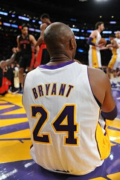 View photos for Photos: Lakers vs. Kobe Bryant Family, Kobe Bryant 24, Lakers Vs, Lakers Kobe, Kone Bryant, Dear Basketball, Lebron James Wallpapers, Kobe Bryant Pictures, Kobe Bryant Black Mamba