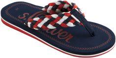 s.Oliver női papucs   Nincs Webáruház   s.Oliver Webáruház   Papucs és Szandál Webáruház   Lifestyleshop.hu Flip Flops, Sandals, Men, Shoes, Fashion, Moda, Shoes Sandals, Zapatos, Shoes Outlet