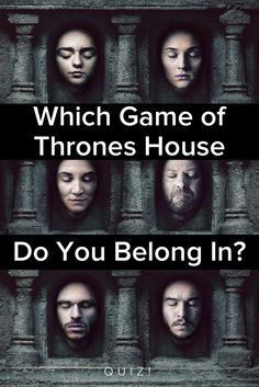 Which Game Of Thrones House Do You Belong In? I am from the Lannister house...who are you?