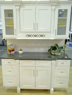 Ice White Shaker Cabinet by Kitchen Cabinet Kings at www.kitchencabinetkings.com - Buy Kitchen Cabinets Online and Save Big with Wholesale Pricing! #kitchen #cabinets #home #cabinetry