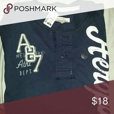 Men's 2 Button New Shirt Two Button Long Sleeve Shirt. New with tags. Aeropostale Shirts Tees - Long Sleeve