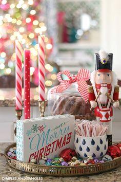 Stylish Modern Christmas Home Tour For Home Decor Dollar Store Christmas, Christmas Room, Cozy Christmas, Modern Christmas, Rustic Christmas, Handmade Christmas, Christmas Crafts, Vintage Christmas, Christmas 2019