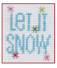 50 Cross Stitch Quickies Christmas - Celebrate the holidays with miniature stitchery designs that are quick to make for decorations and gifts. The fun collection in 50 Cross Stitch Quickies for Christmas from Leisure Arts presents a big variety of themes, Cross Stitch Christmas Ornaments, Xmas Cross Stitch, Cross Stitch Letters, Simple Cross Stitch, Cross Stitch Kits, Cross Stitching, Cross Stitch Embroidery, Embroidery Patterns, Cross Stitch Angels