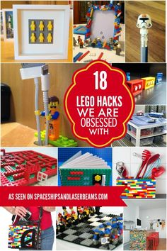 Fun different things to do with Legos.  Use it for art, a purse, so much more.