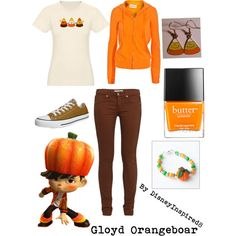 """Gloyd Orangeboar Outfit"" by disneyinspired8 on Polyvore"