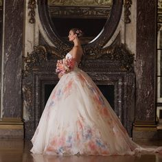 *-* Romona Keveza floral wedding gown - Explore, share, follow the best styles and fashion trends | Get2Style.com