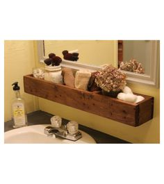 Mensole in legno di abete da bagno Misure: L 90 P15 cm H10 cm come foto su richiesta potrai seguire le fasi di realizzazione del tuo prodotto sulle pagine dei nostro social network Pinterest Facebook Instagram Twitter