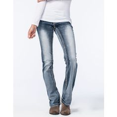 97dc9850 Amethyst Jeans Blue Stitch Womens Slim Bootcut Jeans Jeggings, High Waist  Jeans, All About