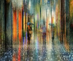 Cityscape Photography Works by Eduard Gordeev - Fine Art and You - Painting Cityscape Photography, Photography Words, Amazing Photography, London Photography, Landscape Photography, Umbrella Art, Photo D Art, Rainy Days, Art Blog