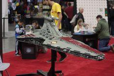 Venator-Class Lego Star Destroyer. Star Destroyer, Lego Star, Vancouver, Fan, Stars, Fans, Computer Fan