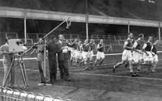 The first ever televised match, Arsenal vs Arsenal Reserves.