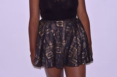HOA Urban Nomad African Print Tennis Skirt