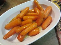 My Patchwork Quilt: GLAZED CARROTS
