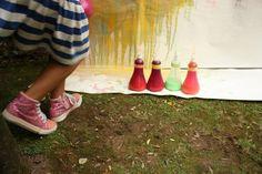 Festas de aniversário Girassol. Atividades simples e muito divertidas.
