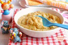 risotto al pomodoro con zucchine e crescenza, ricette per bambini