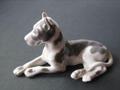 Bing & Grondahl Royal Copenhagen cane dog alano 2190
