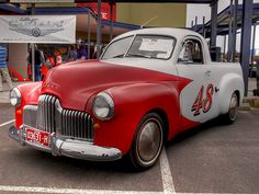 1950 FX Holden Ute | Flickr - Photo Sharing! Holden Australia, Jeepster Commando, Best Tyres, Holden Commodore, Australian Vintage, Van Car, Aussie Muscle Cars, Work Horses, Old Tires