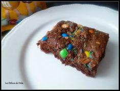 brownie aux mnm's